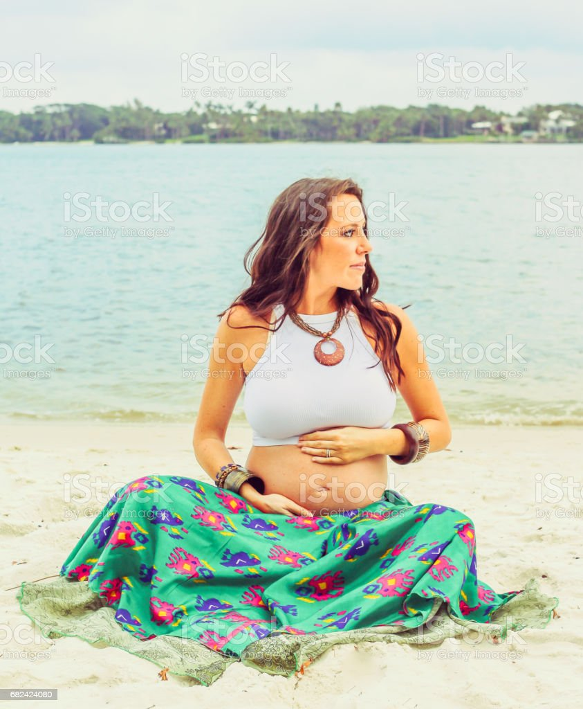 BabyMoon royalty-free stock photo