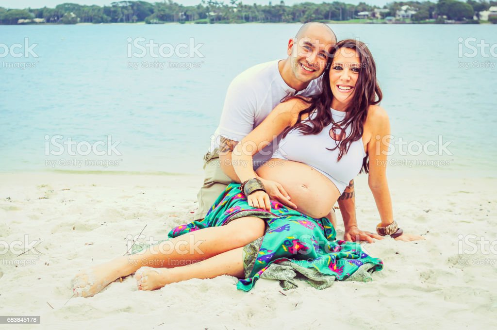 BabyMoon stock photo