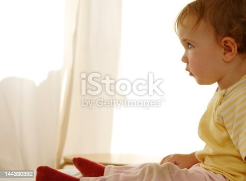 istock Baby's attention 144330392