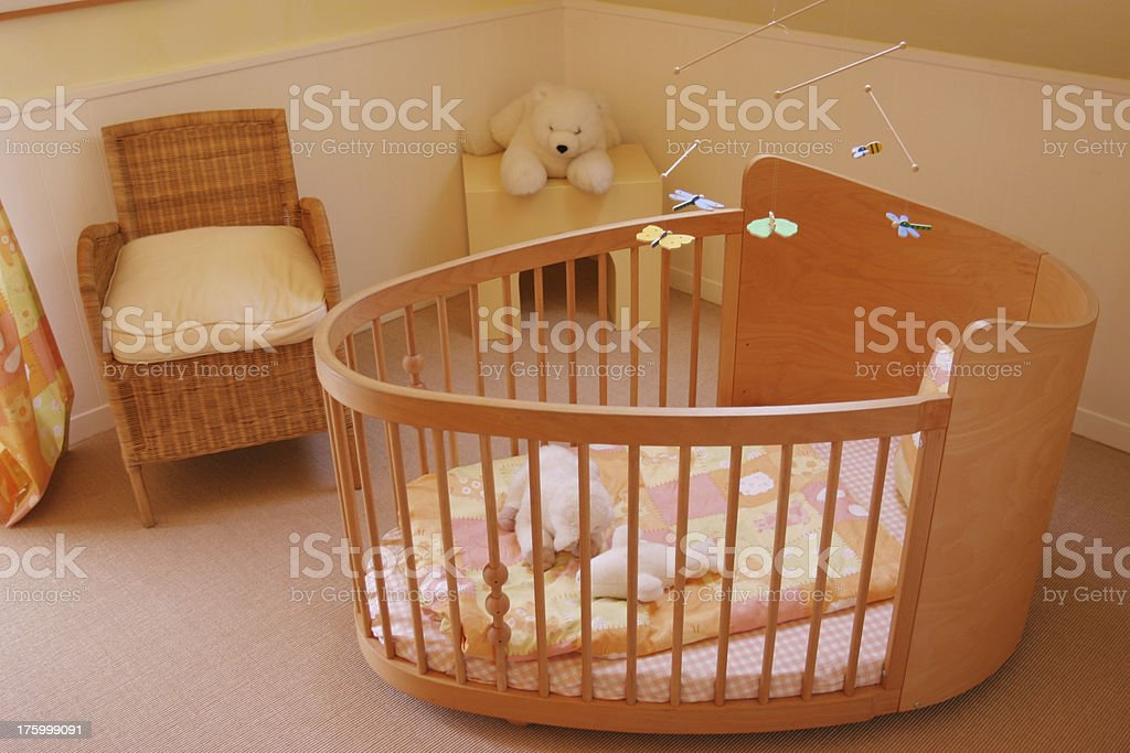 Baby's bedroom royalty-free stock photo