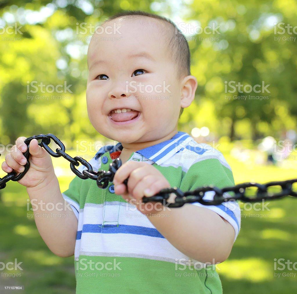Baby's Boston royalty-free stock photo