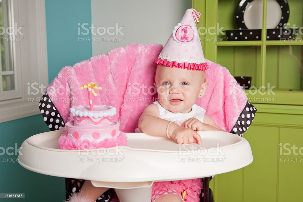 Baby's First Birthday stock photo
