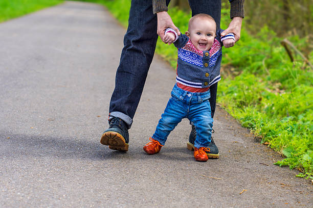 Babys erste Schritte – Foto
