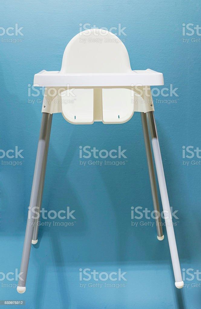 Baby's Highchair stock photo