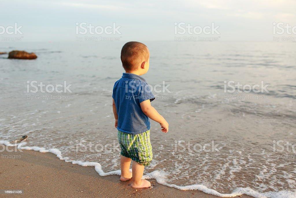 Baby's Ocean royalty-free stock photo
