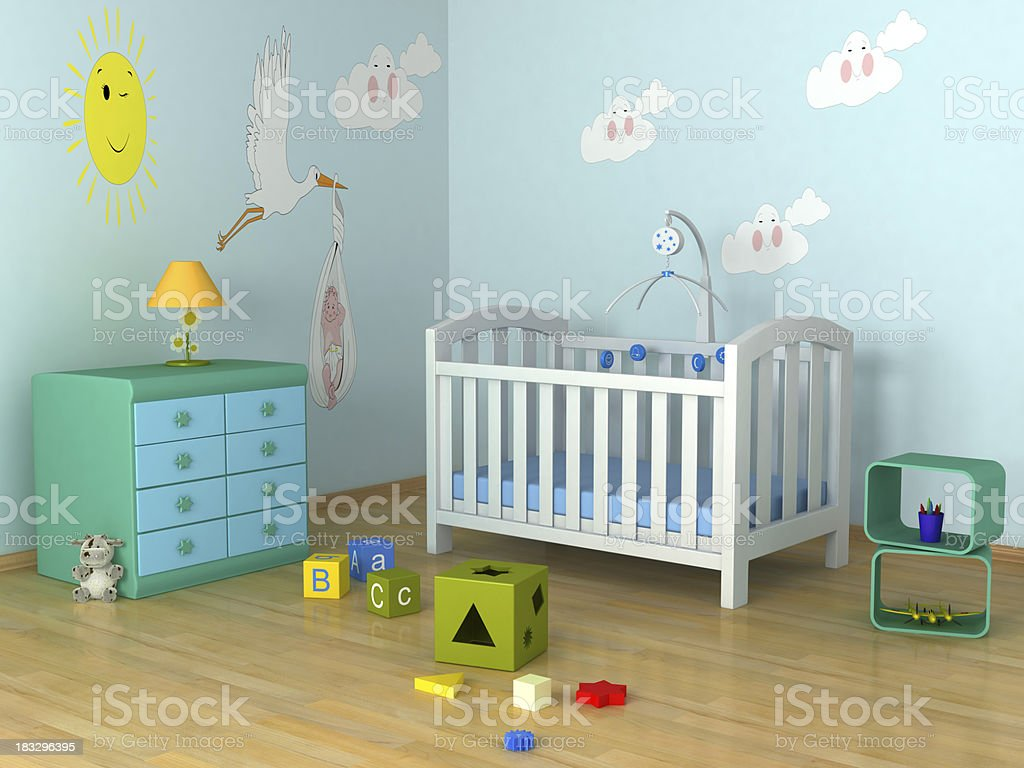 Baby's Room stock photo