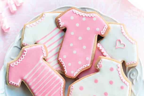 babyshower las cookies - baby shower fotografías e imágenes de stock