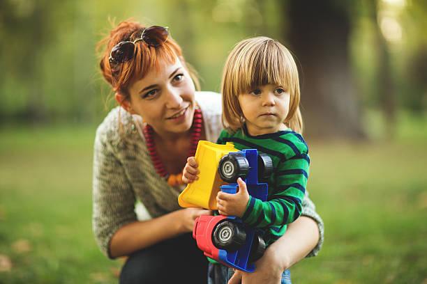 Servicio de cuidado de niños - foto de stock