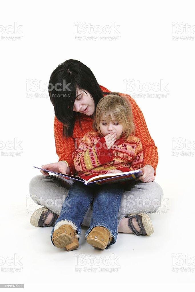 Babysitting Series royalty-free stock photo