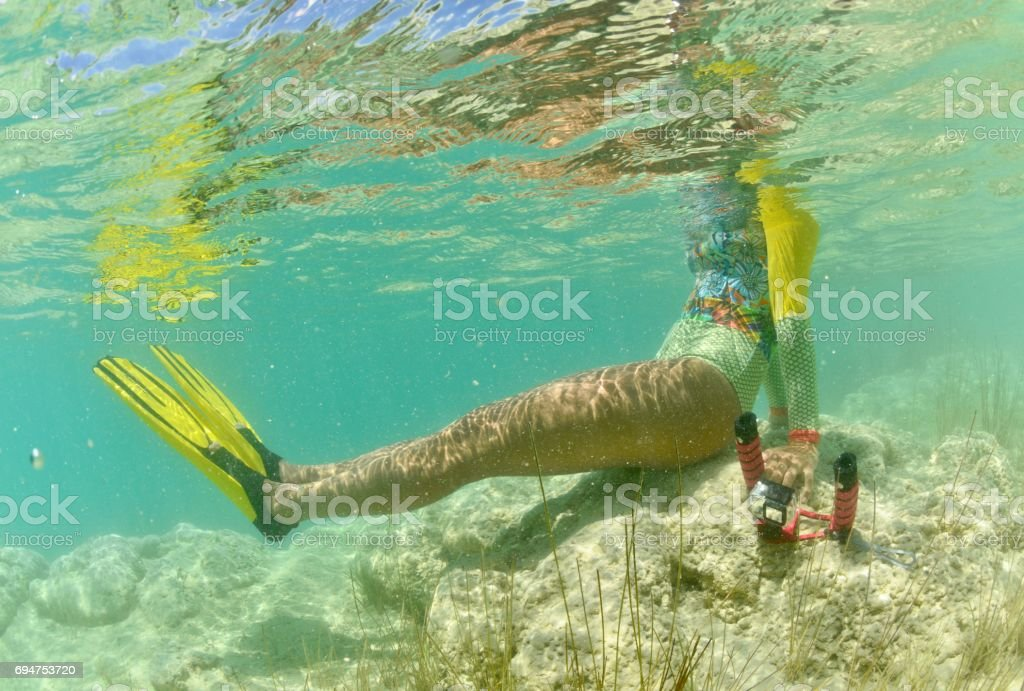 Underwater dreams. A young photographer exploring the tropics.