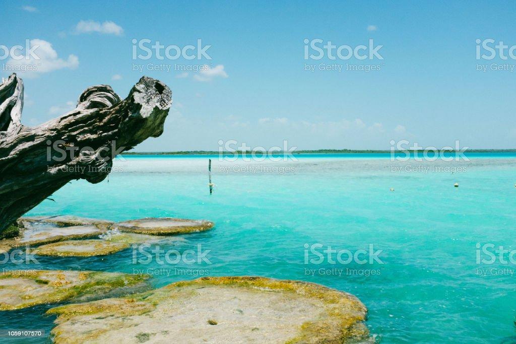Bacalar, Yucatán, México - foto de stock