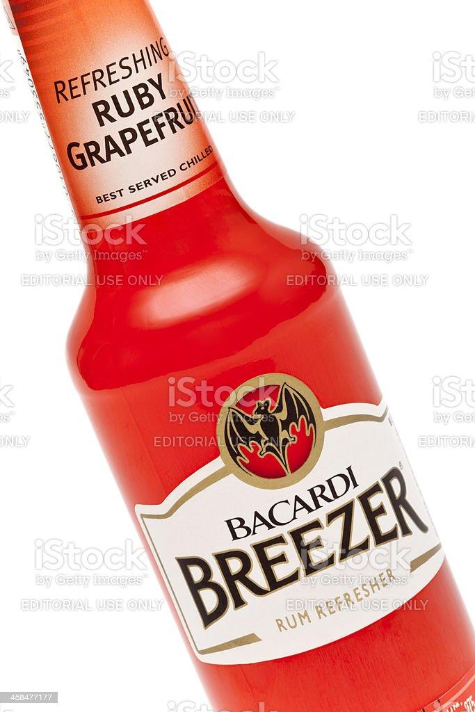 Bacardi Breezer stock photo