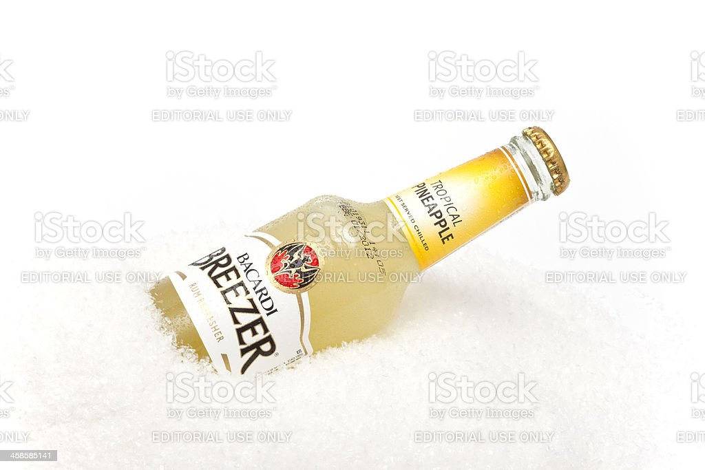 Bacardi Breezer stock photo