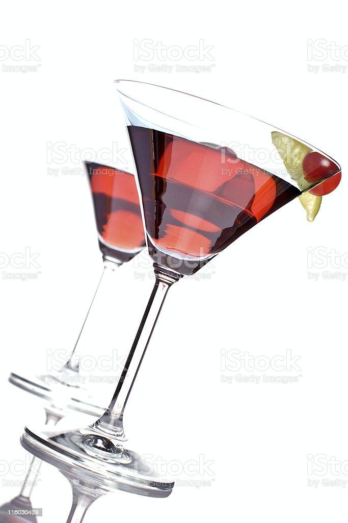bacardi cocktail stock photo