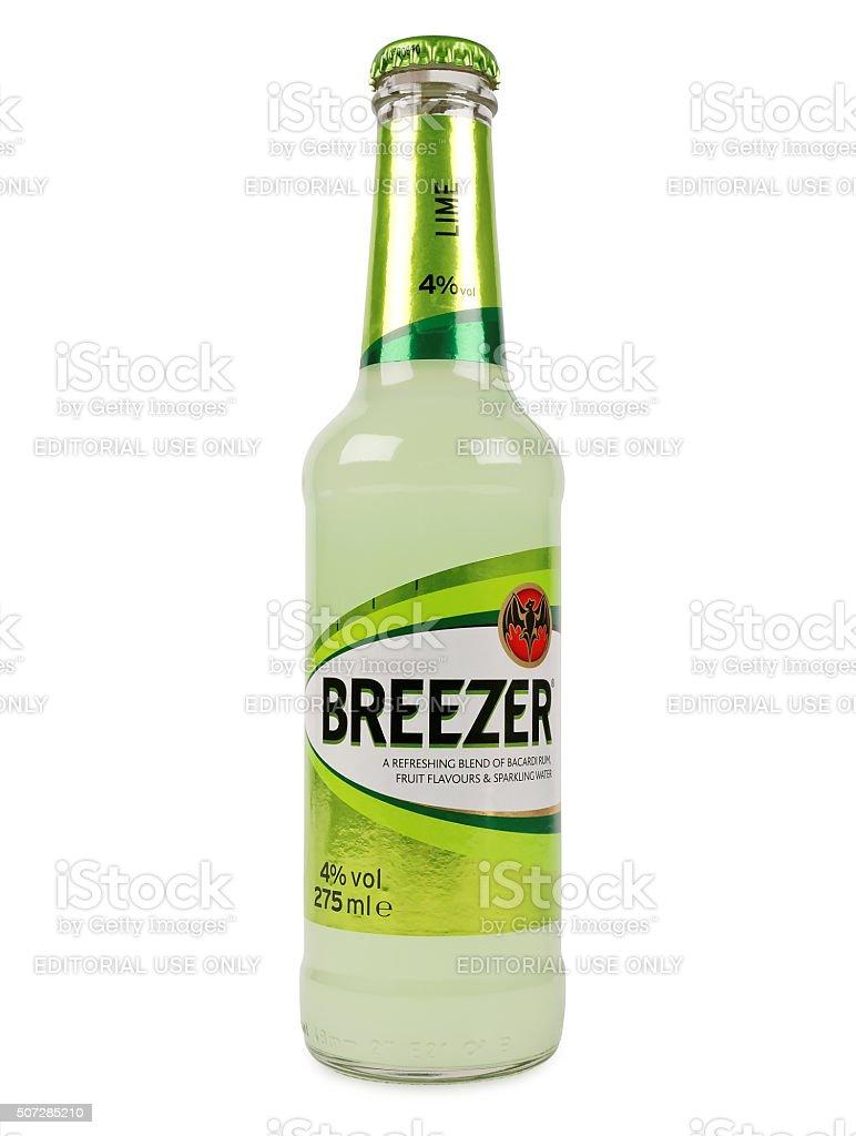 Baccardi Breezer Lime stock photo