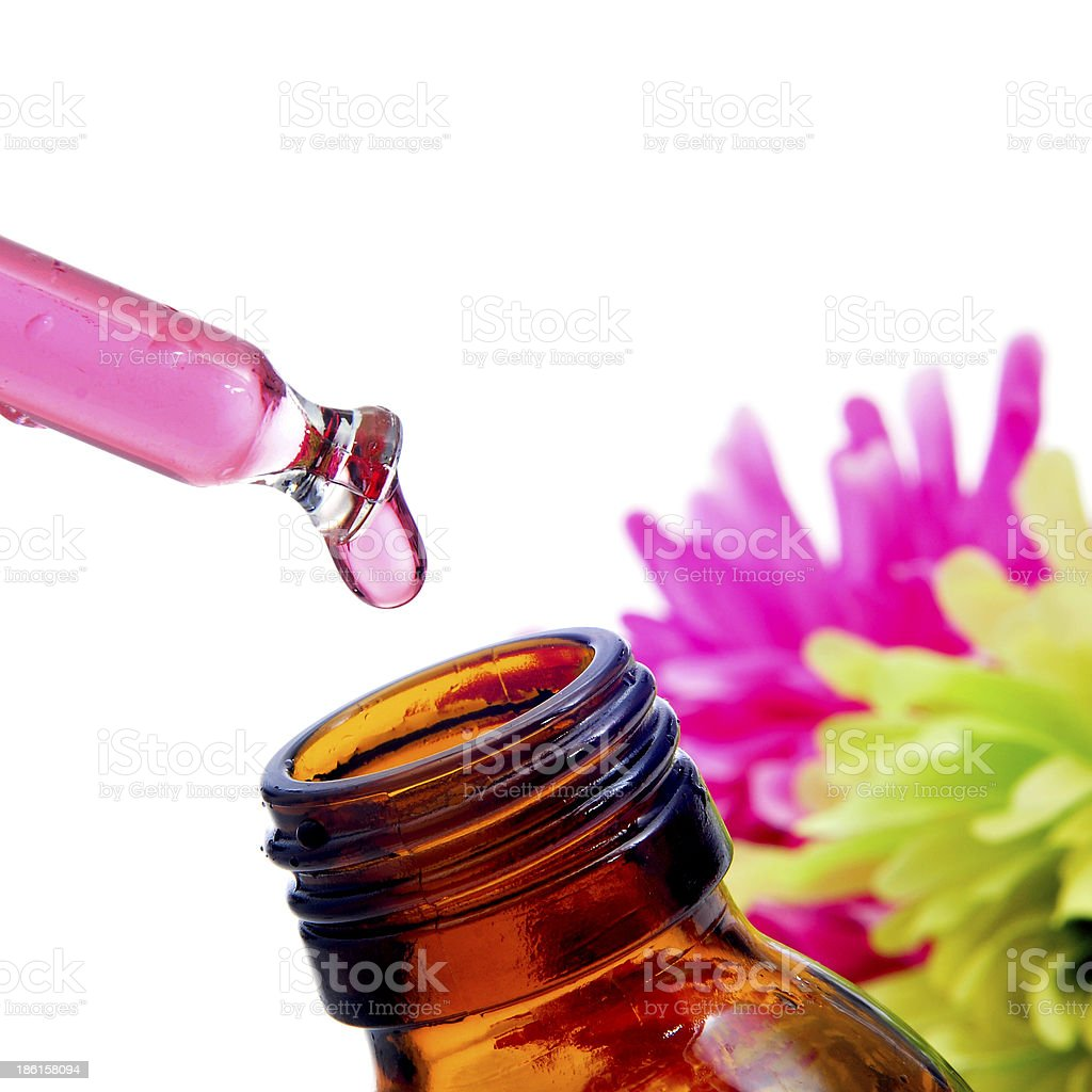 Bach flower remedies royalty-free stock photo
