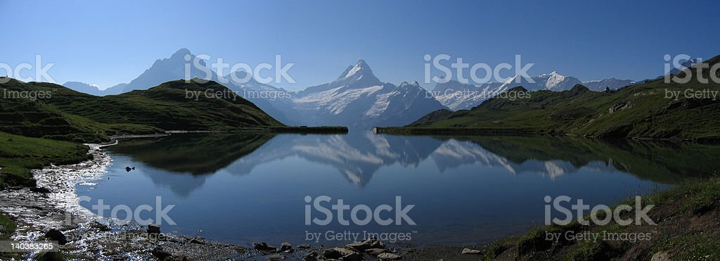 Bachalpsee royalty-free stock photo