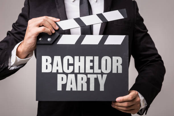 Bachelor Party stock photo