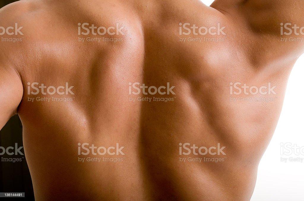 Rücken Und Schulter Nackt Männliche Körper Stock-Fotografie und mehr ...