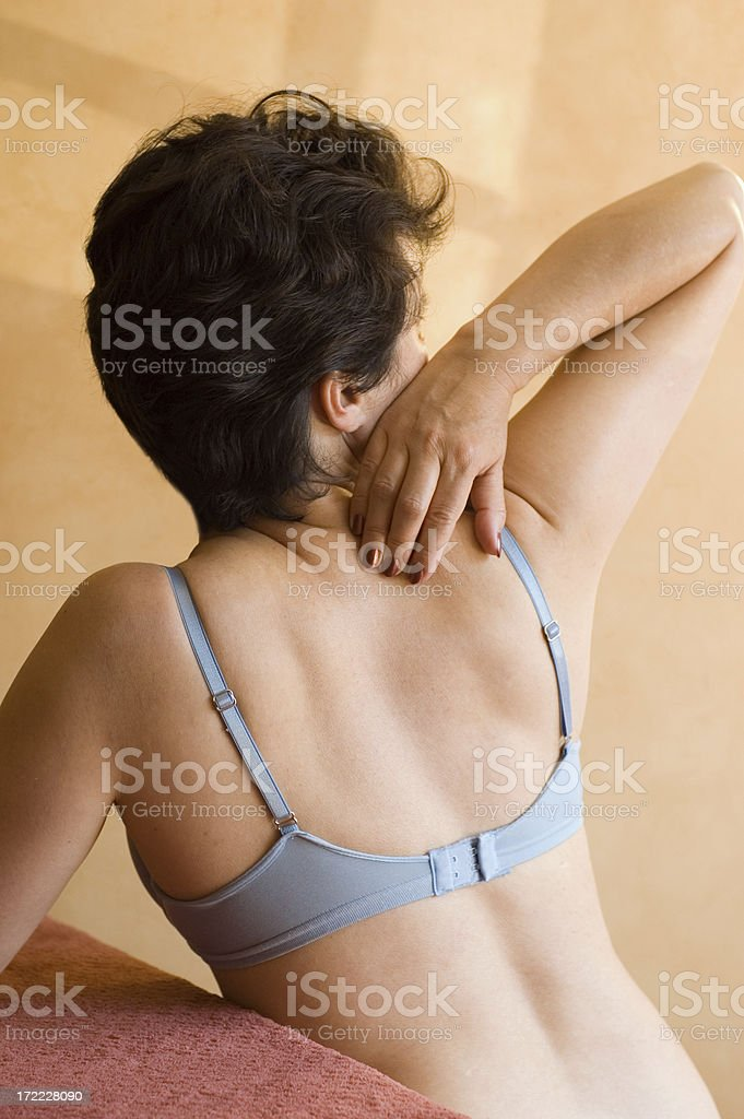 Back and Spine (series) royalty-free stock photo