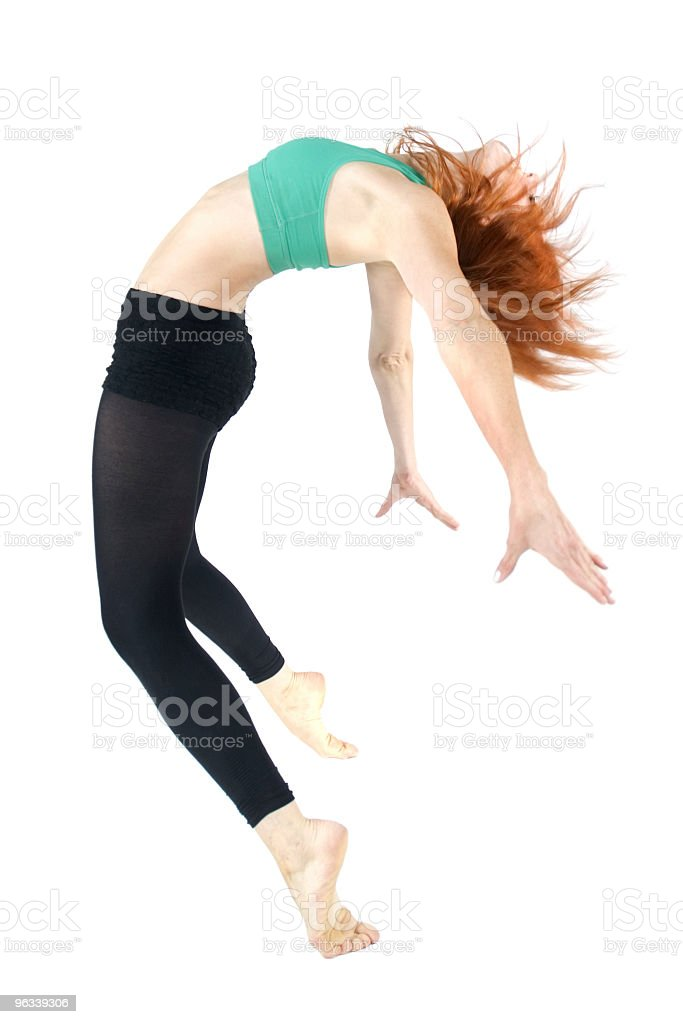 Back Arch Dancer royalty-free stock photo