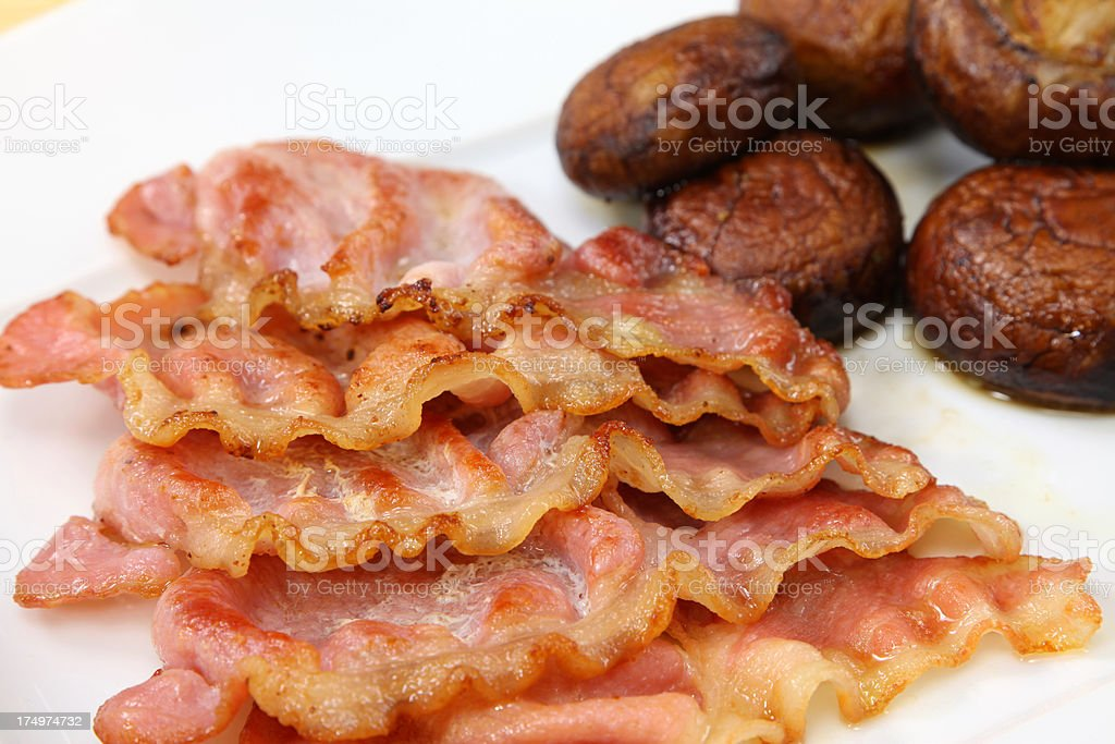 Back Bacon stock photo