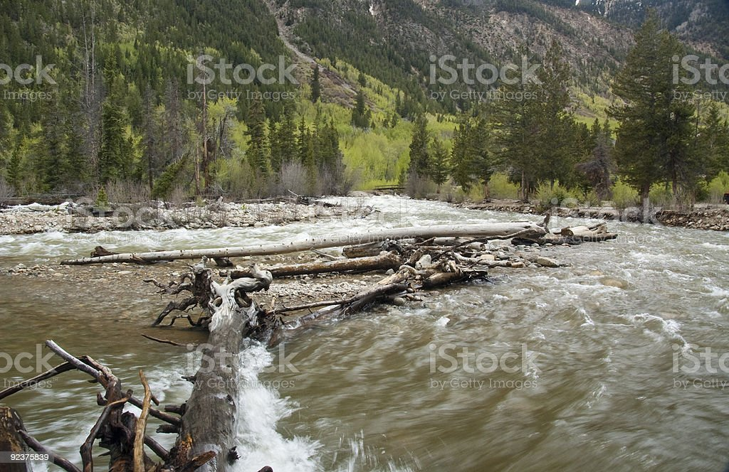 Back Country royalty-free stock photo