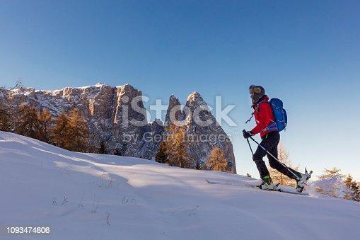 Alto Adige - Italy, Dolomites, European Alps, Mount Schlern