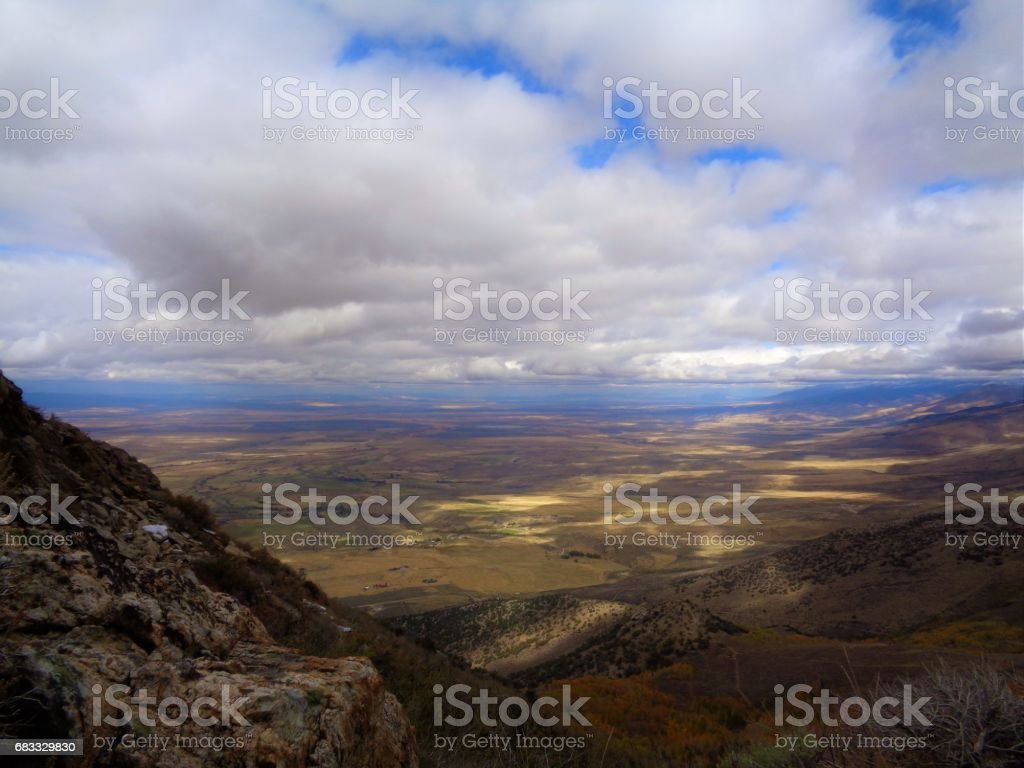 Back Country Solitude royalty-free stock photo