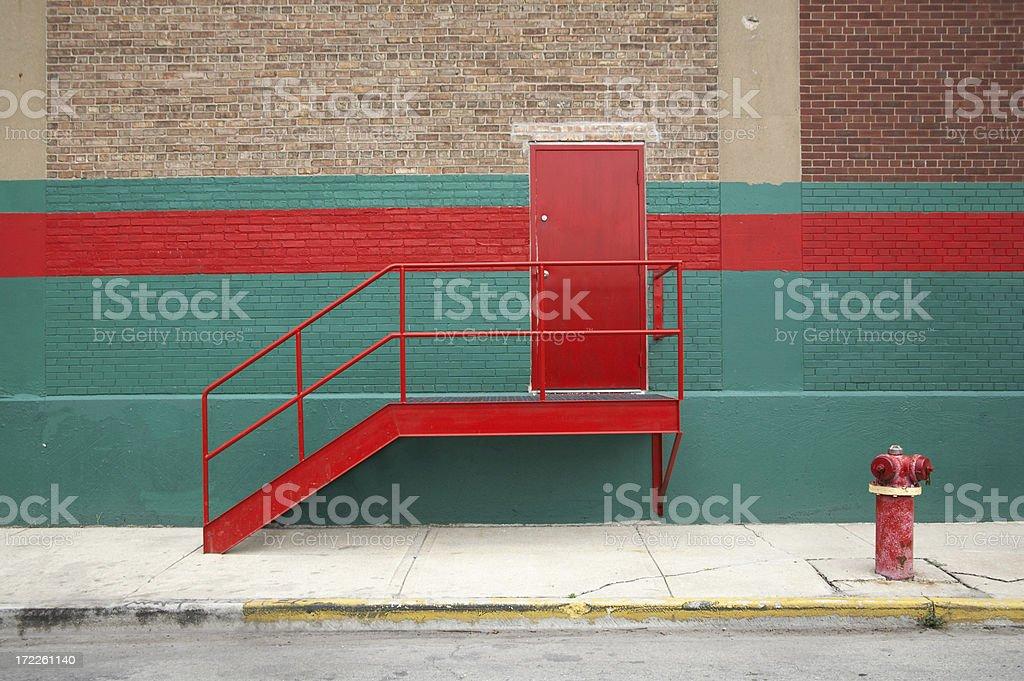 Back Door royalty-free stock photo
