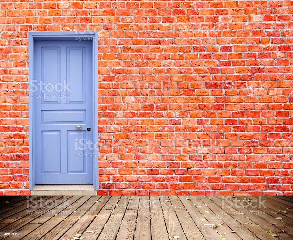 Back Door stock photo