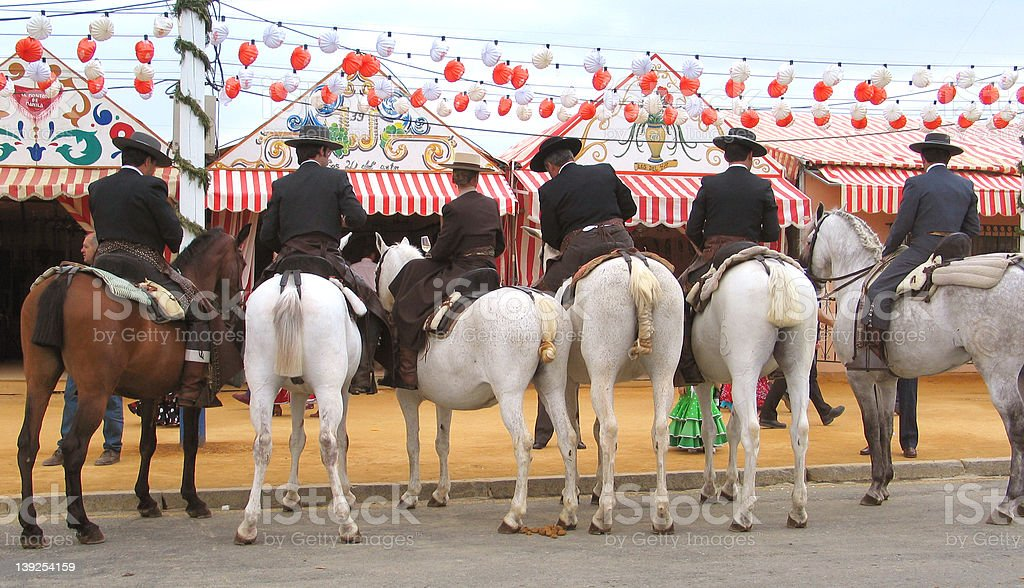back horses royalty-free stock photo