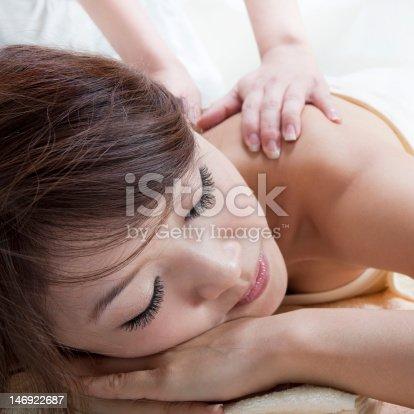 525211834 istock photo Back massage 146922687