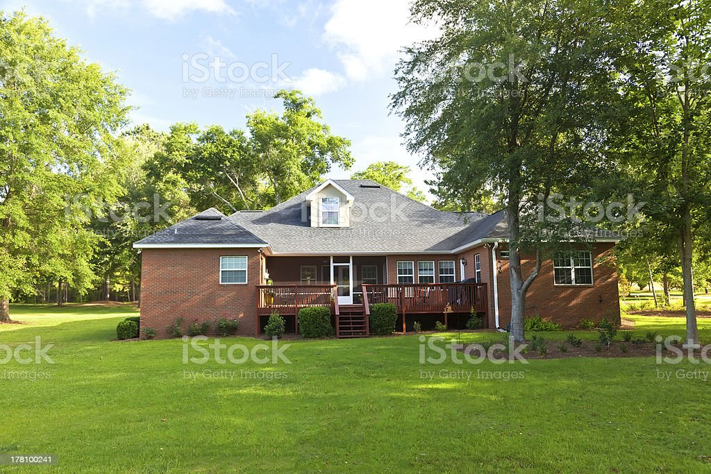 Back of House royalty-free stock photo