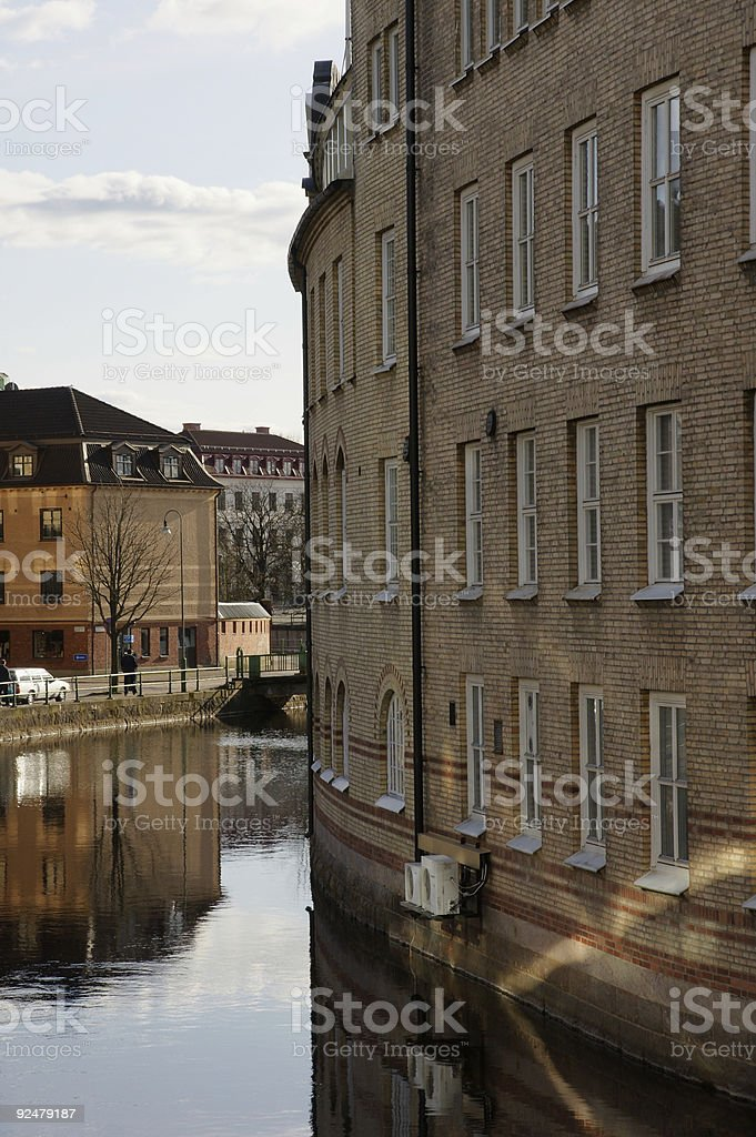 back of office building royalty-free stock photo