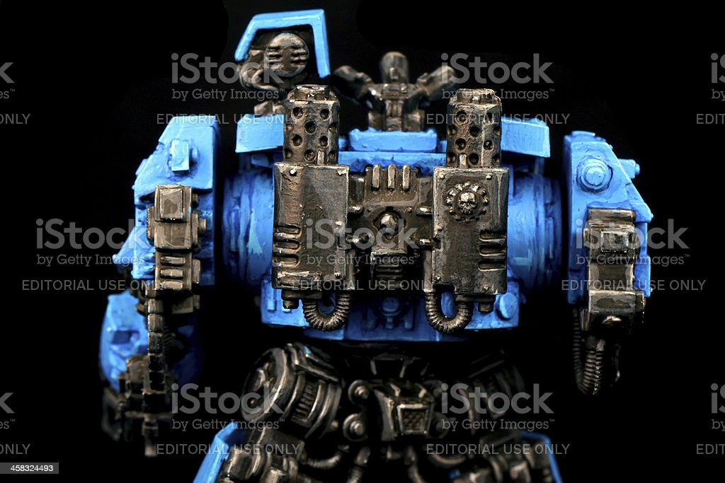 Back of the Destroyer royalty-free stock photo
