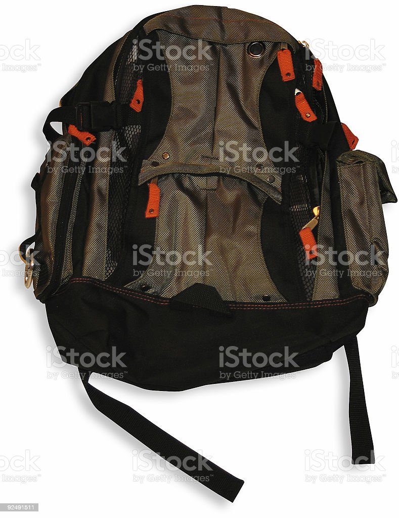 Back Pack or School Bag royalty-free stock photo