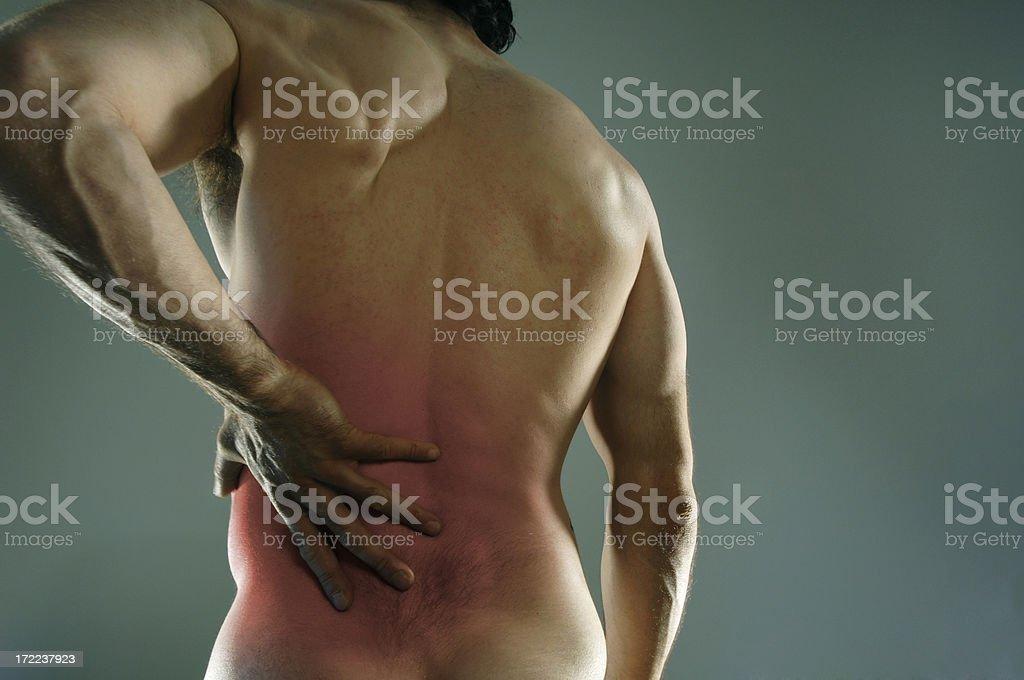 Back Pain royalty-free stock photo