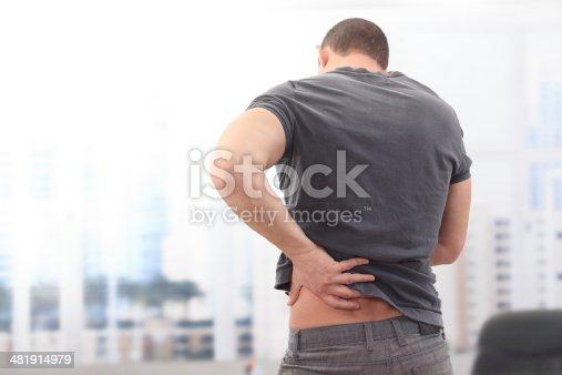 istock Back pain 481914979