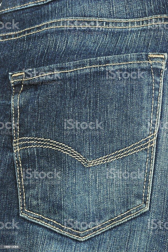 Back Pocket royalty-free stock photo