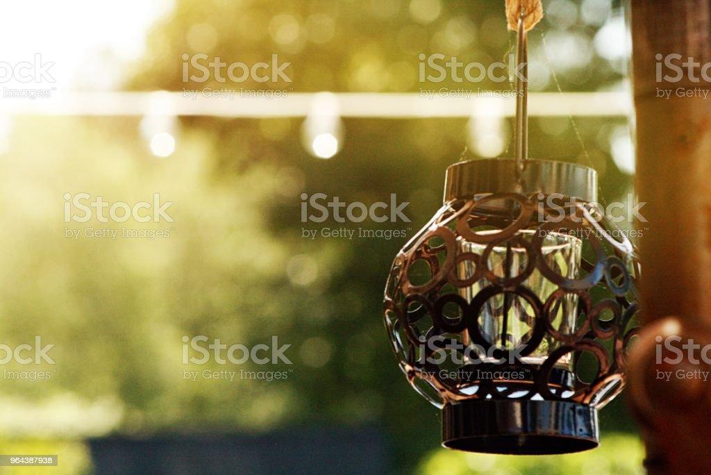 Lâmpada de varanda - Foto de stock de Comemoração - Conceito royalty-free