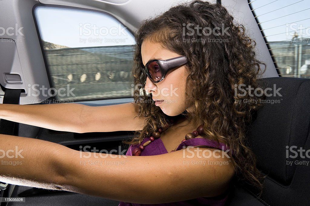 Back Seat Driver royalty-free stock photo