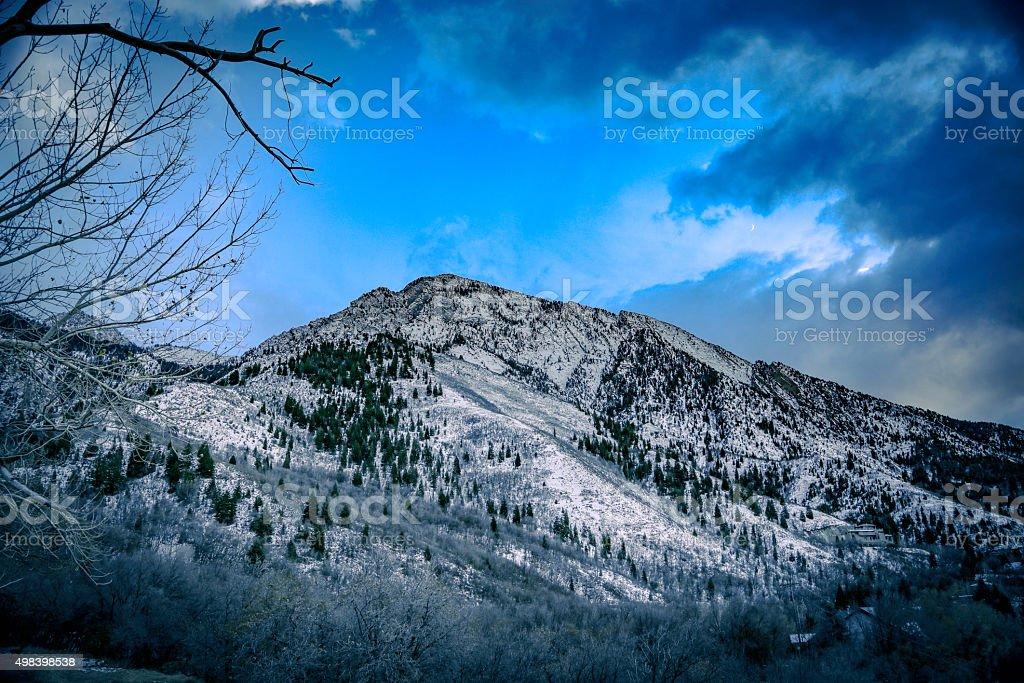 Rückseite des Mt Olympus – Foto