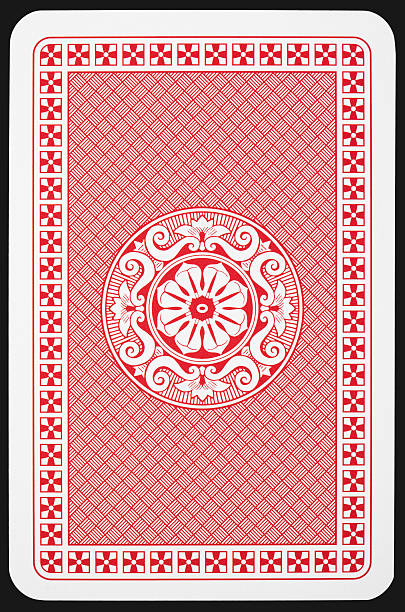 Back side of playing card