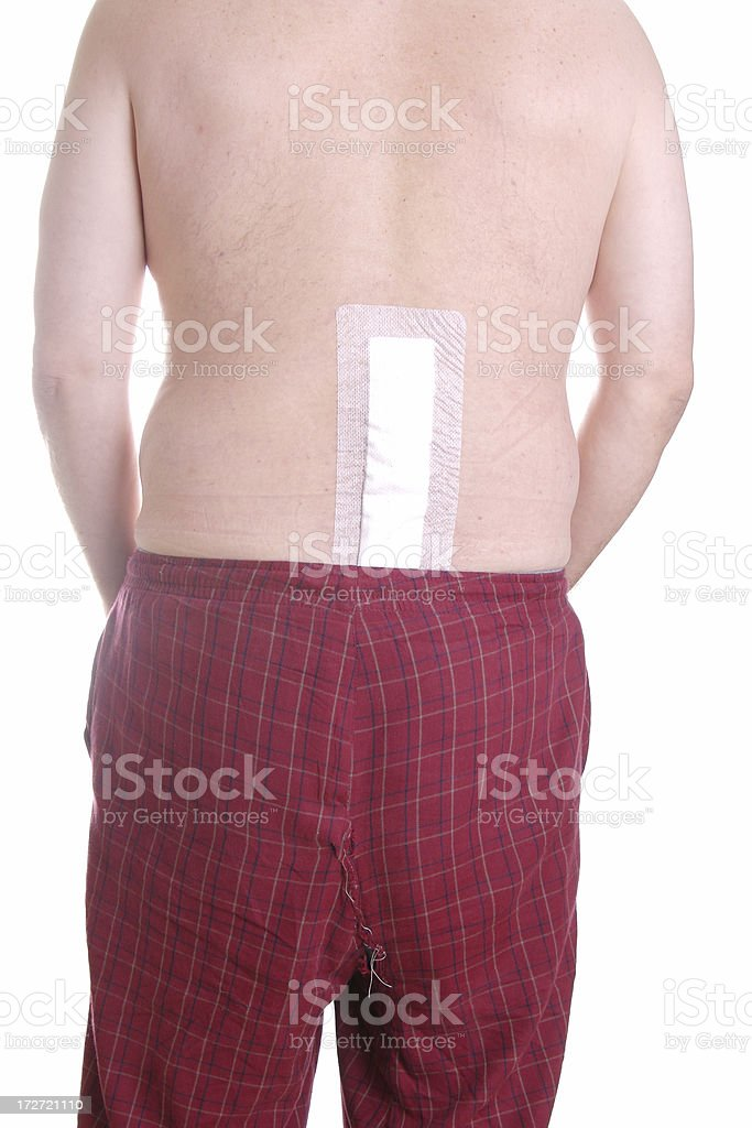 Back Surgery Series stock photo