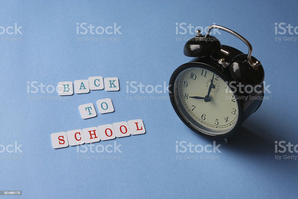 Back To School 3 royalty-free stock photo
