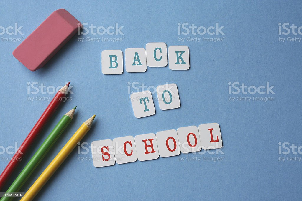 Back To School 4 royalty-free stock photo