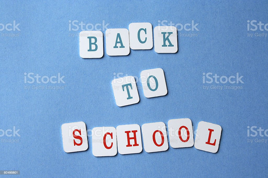 Back To School 5 royalty-free stock photo