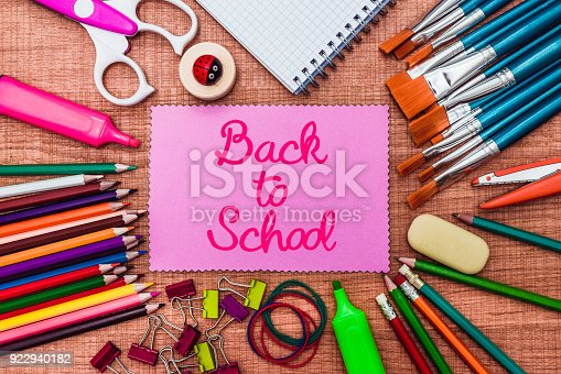 istock Back to School and Education concept 922940182