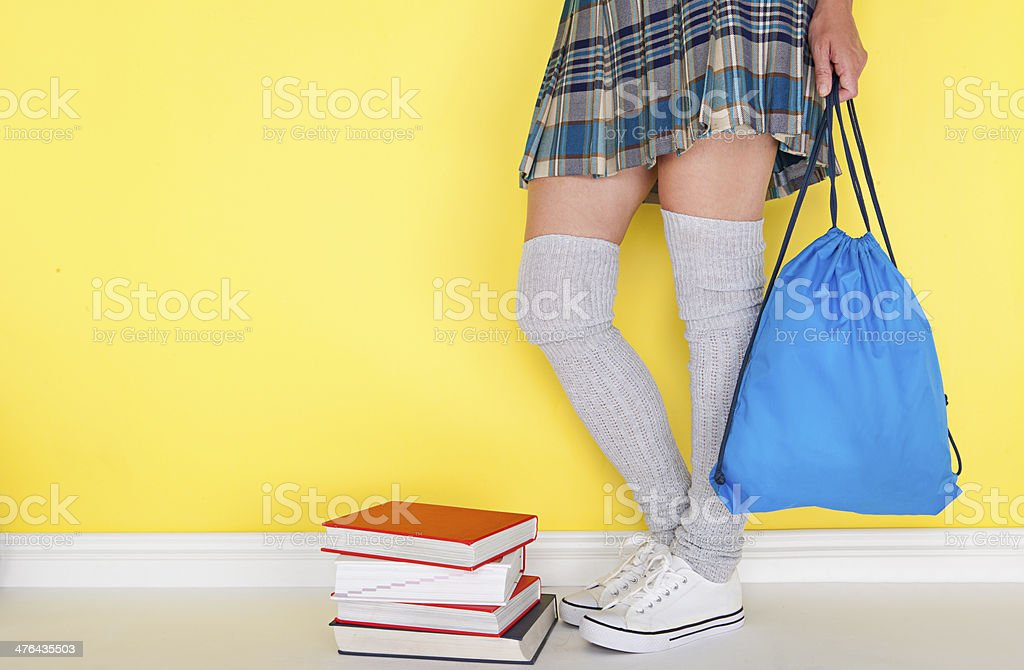 back to school and waiting for lessons stock photo